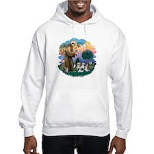 St Francis #2/ Shih Tzus (4) Hoodie Sweatshirt