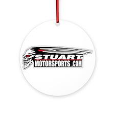 Stuart MotorSports Ornament (Round)