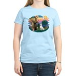 St Francis #2/ S Husky (W) Women's Light T-Shirt
