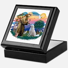 St Francis #2/ Kuvacz Keepsake Box