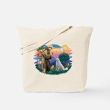 St Francis #2/ Kuvacz Tote Bag