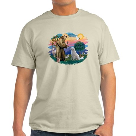 St Francis #2/ Kuvacz Light T-Shirt