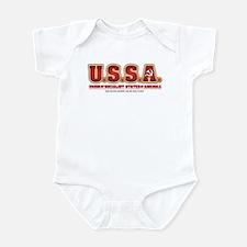 U.S.S.R. Infant Bodysuit