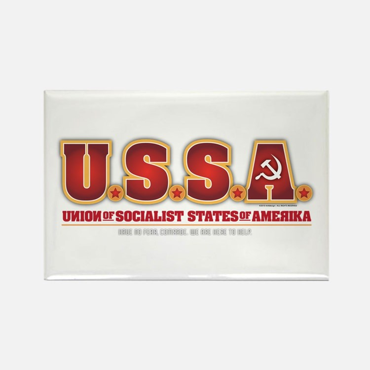 U.S.S.R. Rectangle Magnet