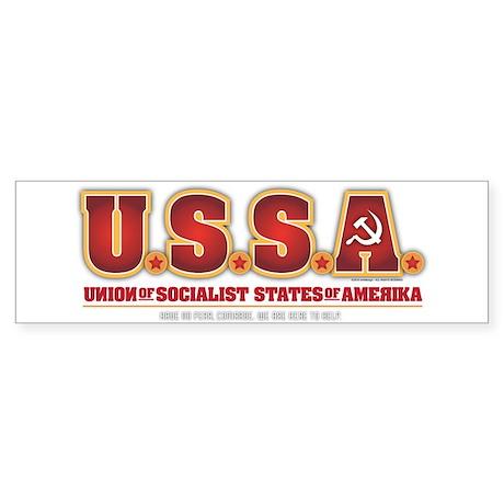 U.S.S.R. Sticker (Bumper)
