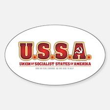 U.S.S.R. Sticker (Oval)