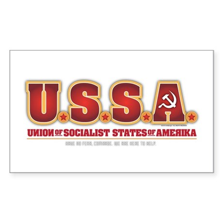 U.S.S.R. Sticker (Rectangle)