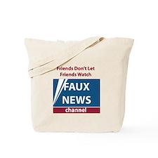 Fox (Faux) News Tote Bag