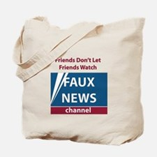 Fox (Faux) News Tote Bag