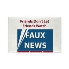 Fox (Faux) News Rectangle Magnet (100 pack)