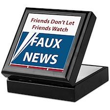 Fox (Faux) News Keepsake Box