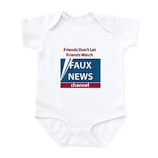 Fox (Faux) News Infant Bodysuit