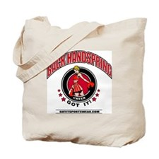 Back Handspring Tote Bag