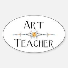 Art Teacher Line Decal