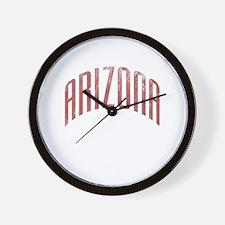 Arizona Grunge Wall Clock