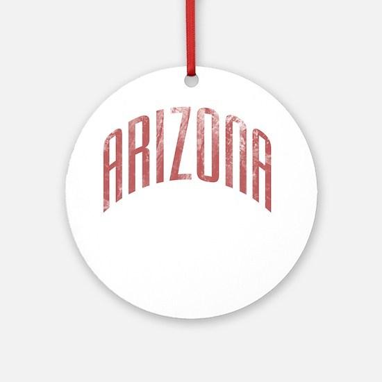 Arizona Grunge Ornament (Round)