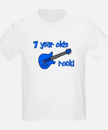 7 year olds Rock! T-Shirt