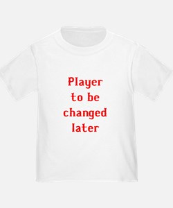 Player to be changed later T