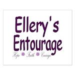Ellery's Entourage Small Poster