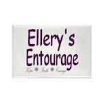 Ellery's Entourage Rectangle Magnet (100 pack)