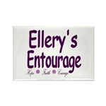 Ellery's Entourage Rectangle Magnet