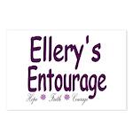Ellery's Entourage Postcards (Package of 8)