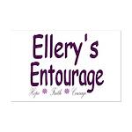 Ellery's Entourage Mini Poster Print