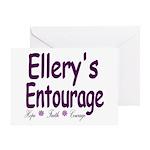 Ellery's Entourage Greeting Card