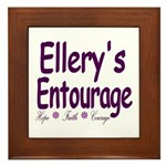 Ellery's Entourage Framed Tile