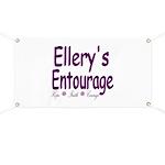 Ellery's Entourage Banner