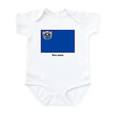 Nevada State Flag Infant Creeper