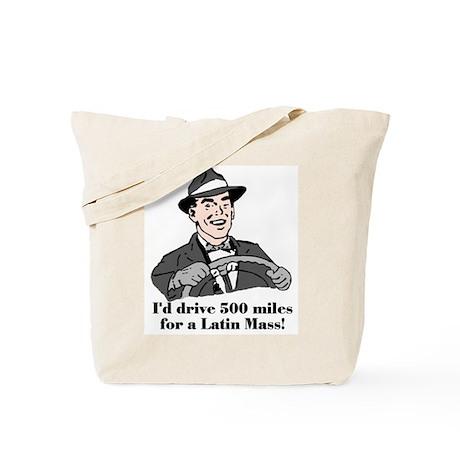 500 Miles Tote Bag