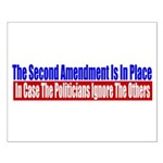 The Second Amendment Is In Pl Small Poster