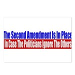 The Second Amendment Is In Pl Postcards (Package o