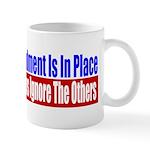 The Second Amendment Is In Pl Mug