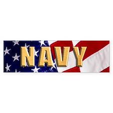 Navy Bumper Bumper Sticker