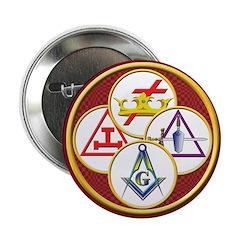 Masonic York Rite Circle Button