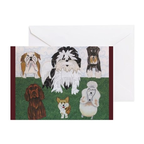 Lucy & the Street Sniffers Greeting Cards (10)