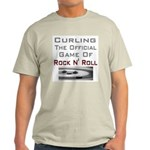 Curling-The Official Game Of Ash Grey T-Shirt
