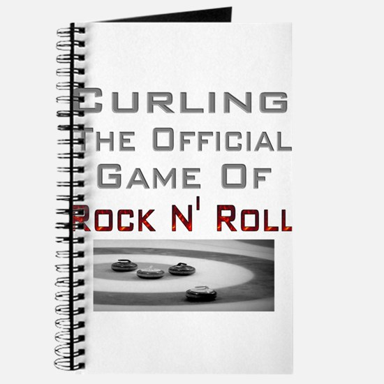 Curling-The Official Game Of Journal