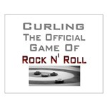 Curling-The Official Game Of Small Poster