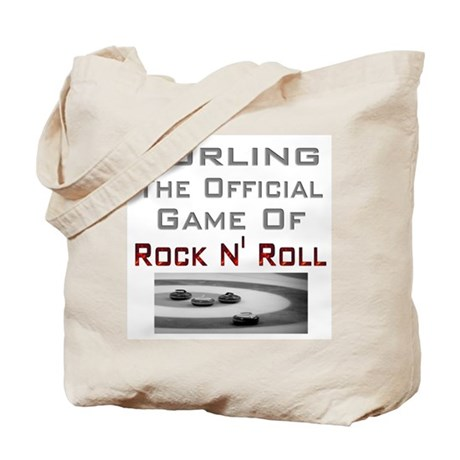 Curling-The Official Game Of Tote Bag