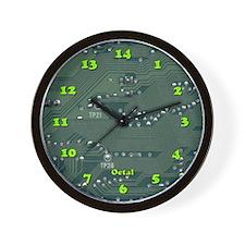 Octal Wall Clock