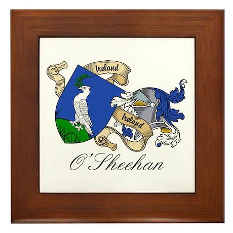 O'Sheehan Coat of Arms Framed Tile