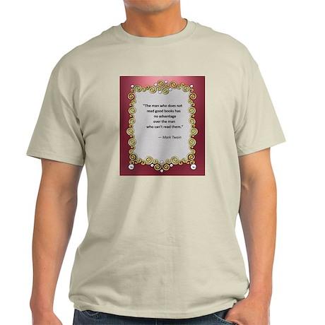 Reading Advantage - Twain Light T-Shirt