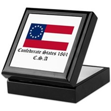 Secede! Confederate States Keepsake Box