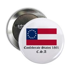 "Secede! Confederate States 2.25"" Button"