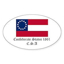 Secede! Confederate States Decal