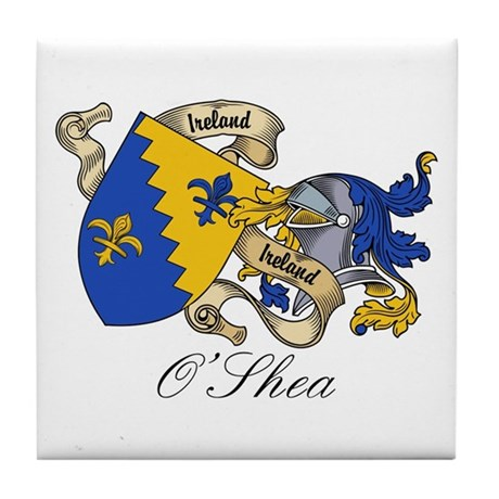 O'Shea Coat of Arms Tile Coaster