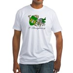 O'Shaughnessy Coat of Arms Fitted T-Shirt